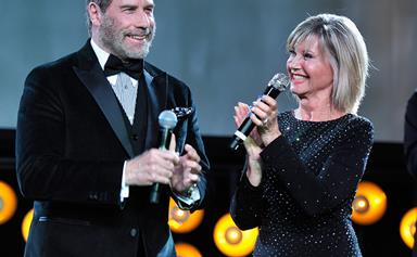 Olivia Newton-John and John Travolta reunite 40 years after Grease premiere