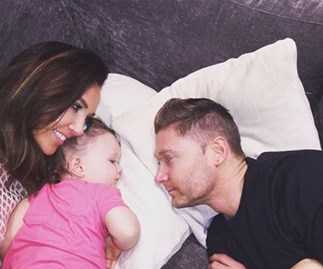 Michael and Kyly Clarke's little girl has been hospitalised