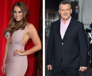 Vicky Pattison and Paul Burrell