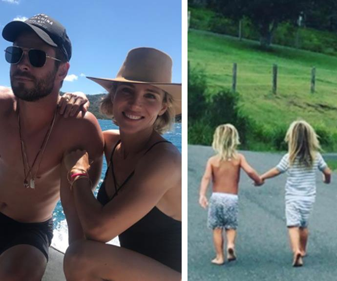 Chris Hemsworth and Elsa Pataky's most loved-up family moments
