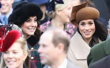 Duchess Kate to make Meghan Markle the godmother to her third child