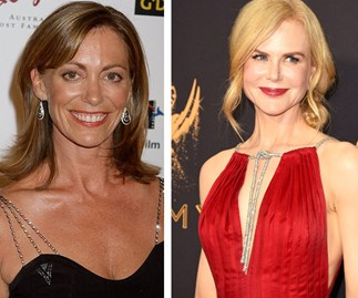 Kerry Armstrong and Nicole Kidman