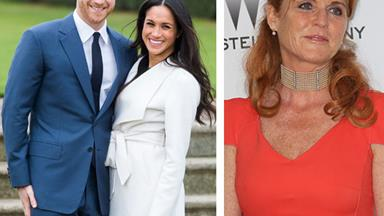 You haven't got mail: Prince Harry and Meghan Markle won't invite Fergie to the royal wedding