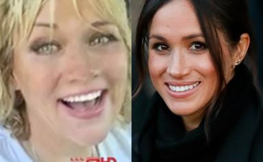 """""""Step up"""": Meghan Markle's half-sister says the royal-to-be should help poverty-stricken father"""