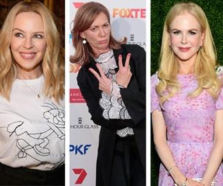 Kerry Armstrong, Kylie Minogue, Nicole Kidman