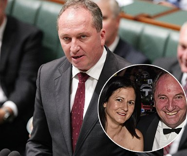 """Barnaby Joyce apologises to estranged wife Natalie, his daughters and his """"partner"""" Vikki Campion"""