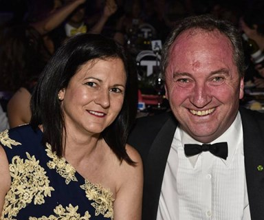 Who are Barnaby Joyce's daughters and ex-wife?