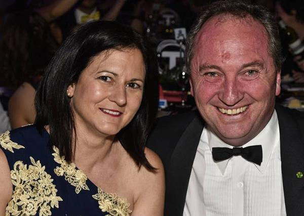 Who are Barnaby Joyce's daughters and ex-wife, Natalie Joyce?