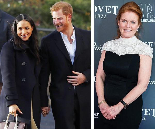 Sarah Ferguson, Prince Harry, Meghan Markle