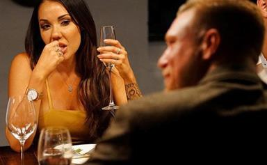 Davina made it clear she's ready to steal Tracey's husband Dean on MAFS