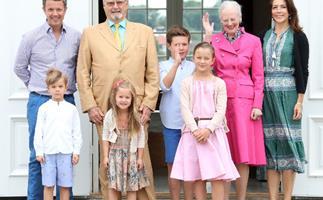 Princess Mary, Prince Christian, Princess Isabella