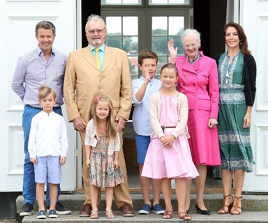 Princess Mary and children rush to the bedside of Prince Henrik as his condition worsens