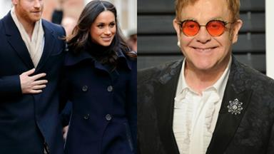 Elton John cancels May concerts to presumably attend Harry and Meghan's royal wedding