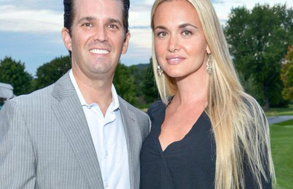 Donald Trump Jr's wife Vanessa rushed to hospital after white powder scare