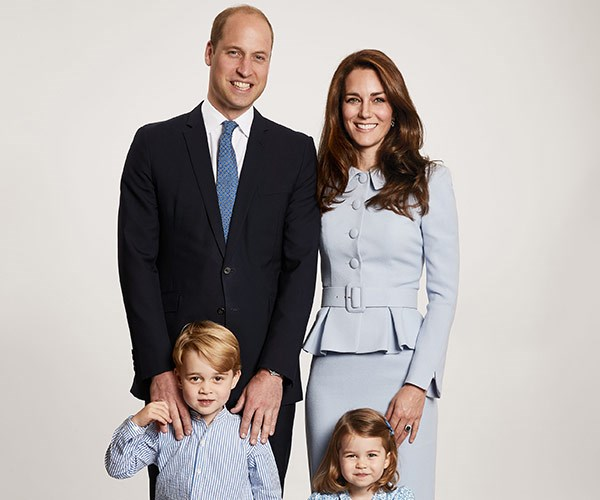 Prince William, Duchess Catherine, Prince George, Princess Charlotte