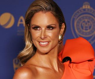 WAGS stun on the 2018 Allan Border Medal blue carpet