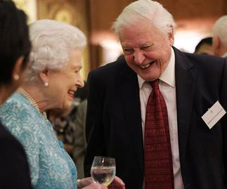 The Queen and Sir David Attenborough have teamed up to save the world