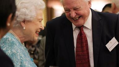 The Queen and Sir David Attenborough have teamed up to save the world and THIS is why we're here for it