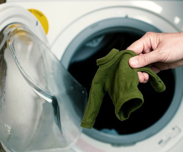 You can use conditioner to unshrink your favorite clothes