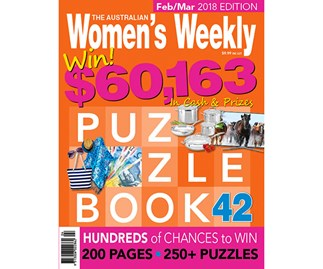 The Australian Women's Weekly Puzzle Book Issue 42