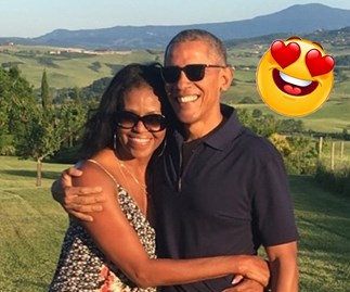 How the most loved-up celebs spent Valentine's Day, from Barack and Michelle to Karl and Jasmine