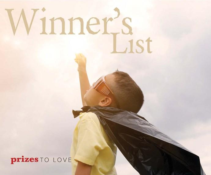 Puzzle Magazine Winner's Lists