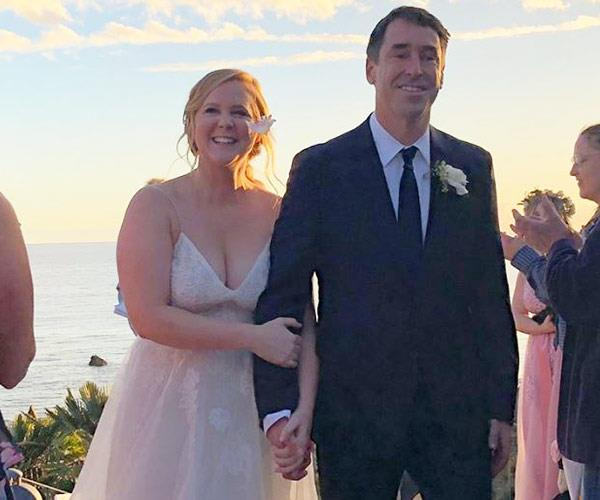 Amy Schumer married chef Chris Fischer in February this year *(Image: Instagram @amyschumer)*