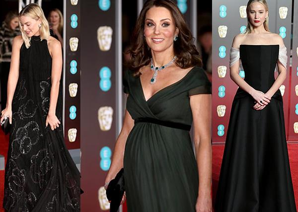 The best of the red carpet at the 2018 BAFTAs