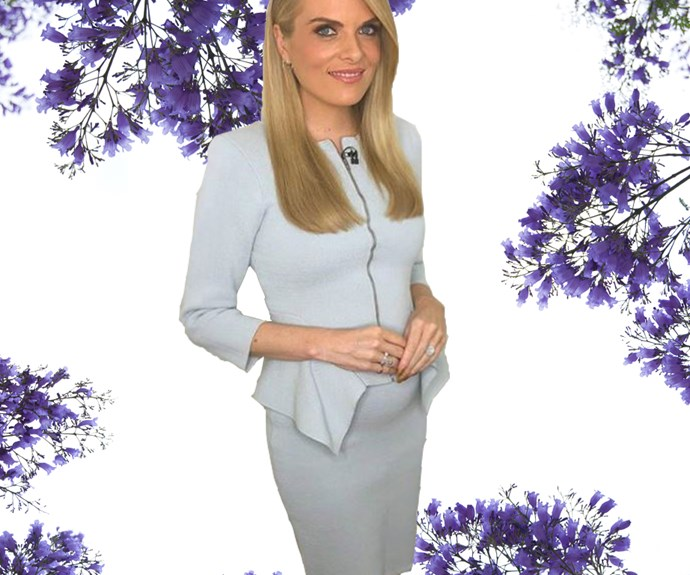 Pregnant Erin Molan is A-OK hospitalised after fall