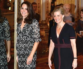 Duchess of Cambridge and Sophie of Wessex