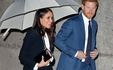 Prince Harry and Meghan Markle step out for a romantic date night in London