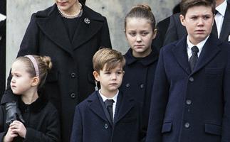 Princess Mary, Prince Christian, Princess Isabella, Princess Josephine, Prince Vincent