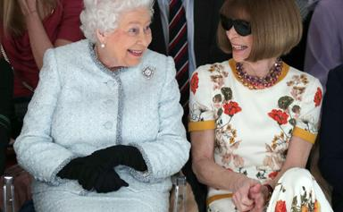 Our hearts can't take it! Queen Elizabeth II steals the show at London Fashion Week