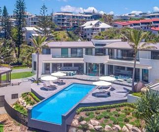 Take a look inside this $22m beachfront mansion  - the most expensive home sold this year