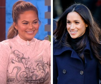 Chrissy Teigen talks working with Meghan Markle on Deal Or No Deal