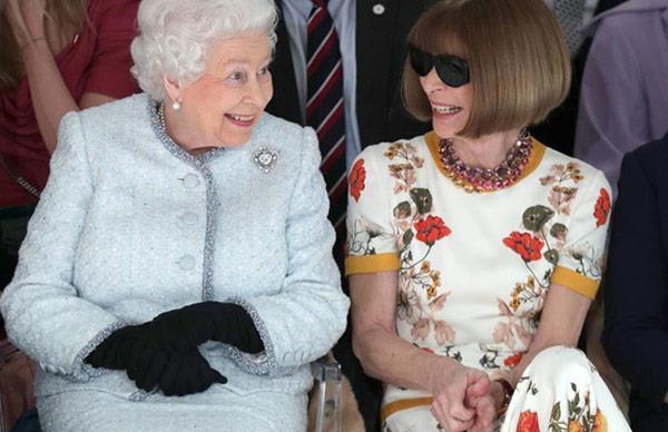 Queen Elizabeth II, Anna Wintour