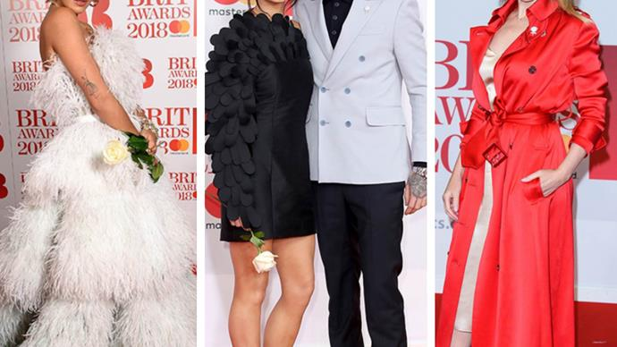 The red HOT carpet: The best looks from the 2018 Brit Awards red carpet