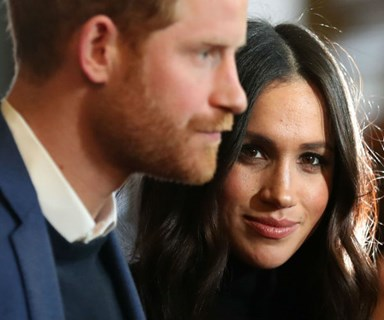 Prince Harry and Meghan Markle targeted in 'racist hate crime'