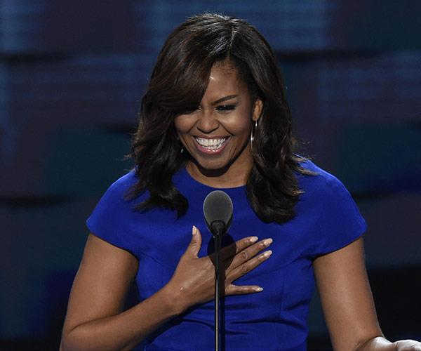 """**8. Michelle Obama on: young women on the power of reaching out to one another...** """"You don't have to wait until you've mad it big time, you can start right now."""""""