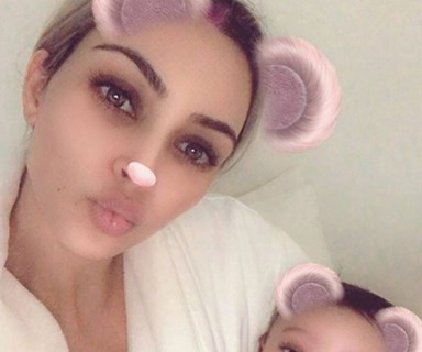 Kim Kardashian shares first photo of her third child, Chicago West