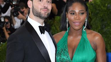 Serena Williams' husband Alexis Ohanian surprises her with four billboards featuring their daughter