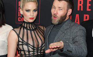 Jennifer Lawrence and Joel Edgerton