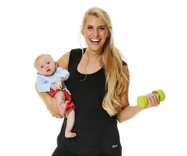 """There are so many pressures as a new mum..."" Tiffiny Hall's refreshing post-baby fitness philosophy"