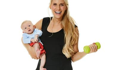"""""""There are so many pressures as a new mum..."""" Tiffiny Hall's refreshing post-baby fitness philosophy"""