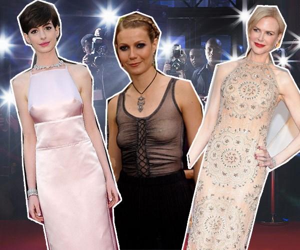 Oscars wardrobe malfunction