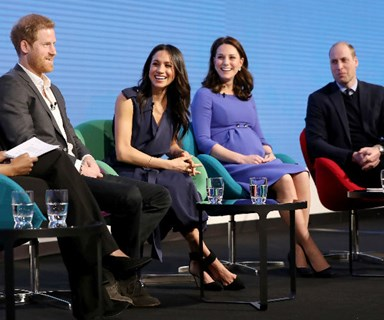 Prince Harry and Meghan Markle join Prince William and Duchess Kate for their first royal appearance