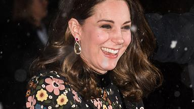 Duchess Catherine is snow queen perfection at the National Portrait Gallery