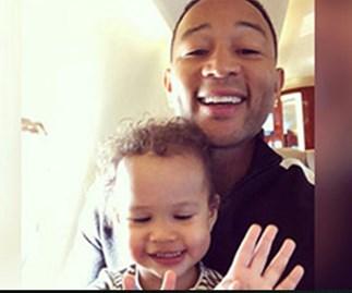 "John Legend laughs off his recent dad-shaming: ""it's hilarious"""