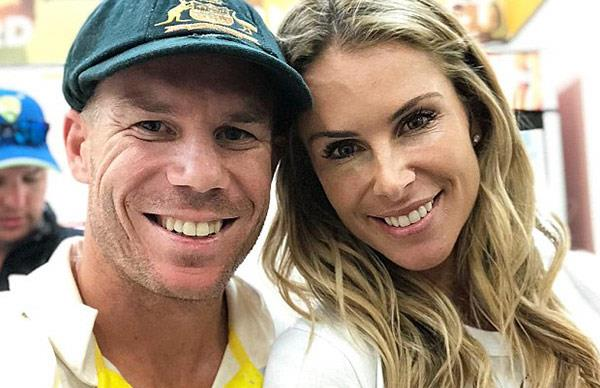 David Warner makes adorable tribute to Candice Warner after reports of fights defending her honour