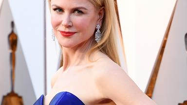 Nicole Kidman steps out on the 90th Academy Awards red carpet - & her dress will blow you away!